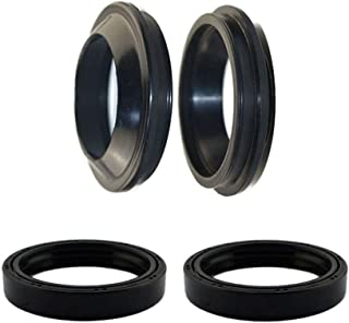 AHL Front Fork Shock Oil Seal and Dust Seal Set 41mm x 54mm x 11mm for Honda GL1200 Goldwing/Interstate 1984-1988