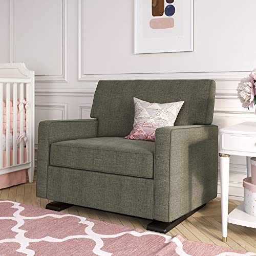 Baby Relax Double Chair, Nursery & Living Room, Gray Glider