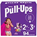 Pull-Ups Learning Designs Girls' Training Pants, 2T-3T, 94 Ct