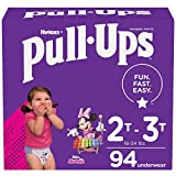 Pull-Ups Girls' Potty Training Pants Training Underwear Size 4, 2T-3T, 94 Ct
