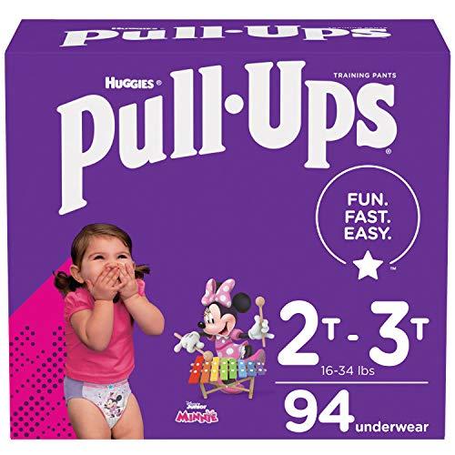 Pull-Ups Girls' Potty Training Pants Training Underwear...