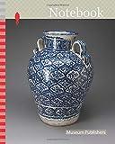 Notebook: Vase, 1700/50, Talavera poblana, Puebla, Mexico, Puebla state, Tin-glazed earthenware