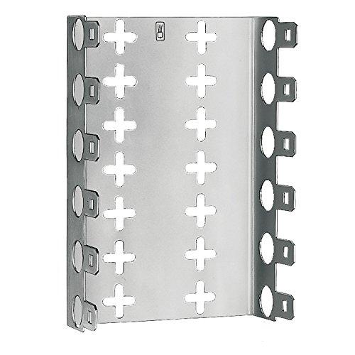 3M 02151037 LSA-Plus Montagewanne, 79151-509 25, Baureihe 2, Raster 27,5 mm, Tiefe 30 mm für 11 Leisten, Metal (2-er Pack)