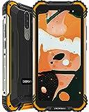 Telephone Portable Incassable, DOOGEE S58 Pro Octa-Core 6 Go+64 Go(SD 256Go), 5180 mAh, 16MP+16MP Caméra, 5,71 Pouces Smartphone Débloqué 4G, Android 10.0 Dual SIM, Antichoc/Étanche/NFC/Face ID/GPS