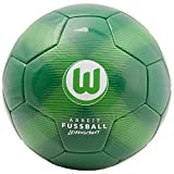 VfL Wolfsburg - Camiseta de fútbol (talla 5), color verde