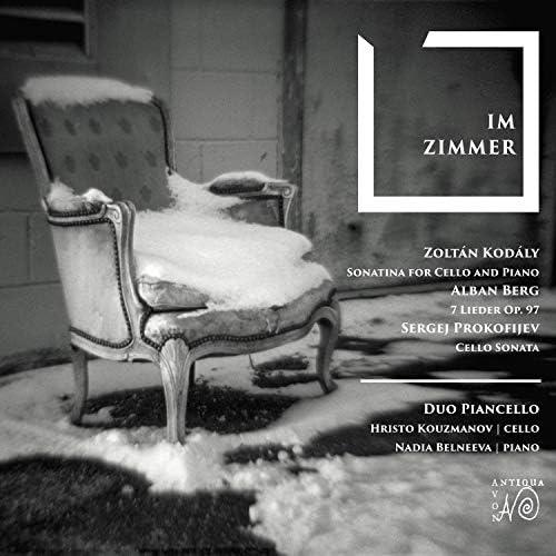 Duo Piancello, セルゲイ・プロコフィエフ, ゾルターン・コダーイ, アルバン・ベルク, Hristo Kouzmanov & Nadia Belneeva