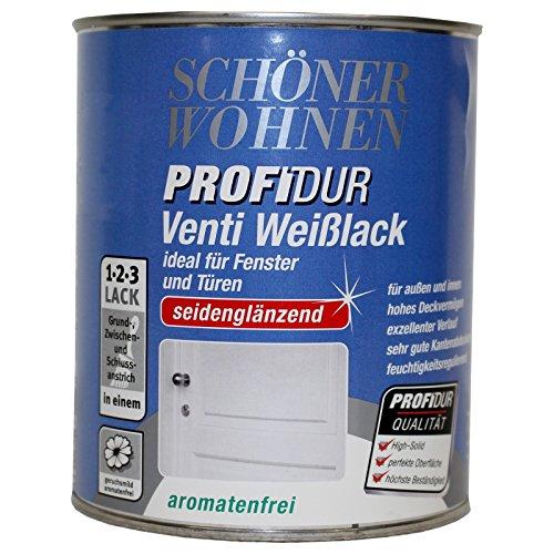 Schöner Wohnen Profidur Venti Weißlack Seidenglänzend 750 ml Neu