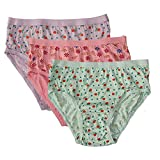 Won Now Women's Cotton Panties/Briefs (Pack of 3) Combo Multicolour Size ( S , M , L , XXL, XXXL ) ( Colour May Vary ) (95, x_l)