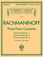 Three Piano Concertos: Two Pianos, Four Hands (Schirmer's Library of Musical Classics)