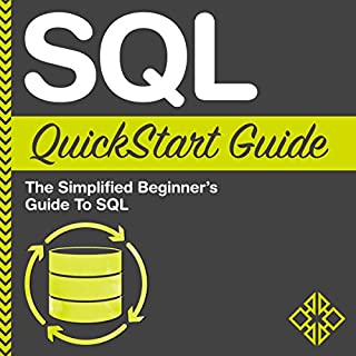 SQL QuickStart Guide audiobook cover art