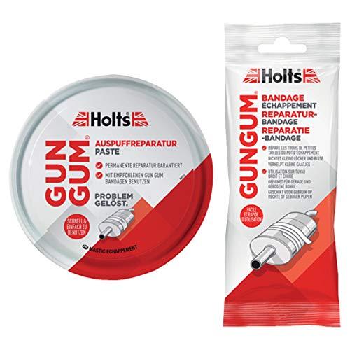 Holts Auspuff Reparatur Set Bandage 1 Stück + Dichtungspaste 200G