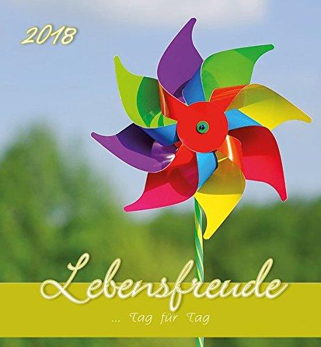 Herlitz 50011155Postal Calendario Alegría de vivir 2018