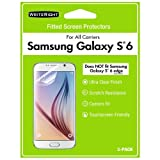 WriteRight Screen Protector for Samsung Galaxy S6, 3pk