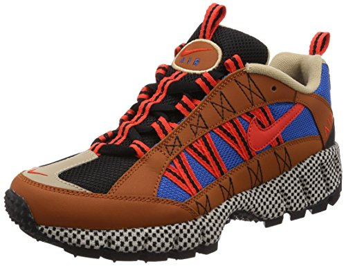 Nike Air Humara 17 QS Uomo Running Trainers AO3297 Sneakers Scarpe (UK 8.5 US 9.5 EU 43, Dark Russet Red 200)