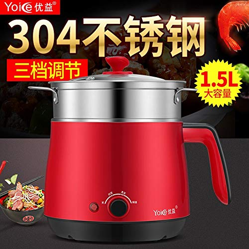 Fantastic Prices! Electric Skillet dormitory Hot pot cooking pot multifunction electric cooker With ...