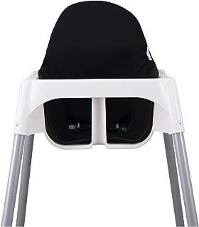 Janabebé Cushion for high Chair IKEA Antilop (Black Series)