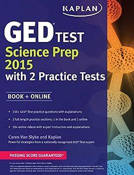 By Caren Van Slyke Kaplan GED?? Test Science Prep 2015  Book + Online  Kaplan Test Prep   Csm  [Paperback]