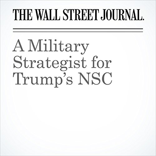 A Military Strategist for Trump's NSC copertina