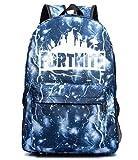 KATKAL Mochila escolar luminosa, ideal para niños y niñas, mochila versátil para hombres y mujeres, bolsa de almacenamiento para la escuela, viajes, al aire libre (estrella)