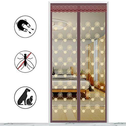 AIYYJ Magnetische insectenhor, insectenhor, in elkaar grijpende horren, voor balkon, schuifdeuren, woonkamer en kinderkamer