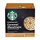 Starbucks Coffee by Nescafe Dolce Gusto, Starbucks Caramel Macchiato, Coffee Pods, 12 capsules, Pack...