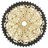 Tbest Rueda Libre de Bicicleta, ZTTO 11Speed 9-50T Integración Hollow Bike Cassette Sprocket Flywheel para Bicicleta de montaña Accesorio de Repuesto