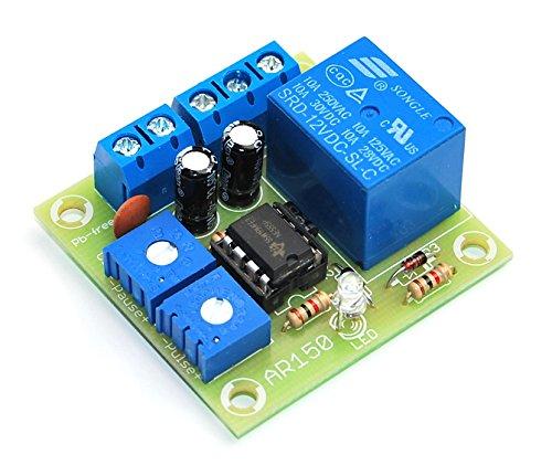 ArliKits AR150M timer met relaismodule tijdschakelaar intervaltimer knipperlicht LED-display tijdbediening