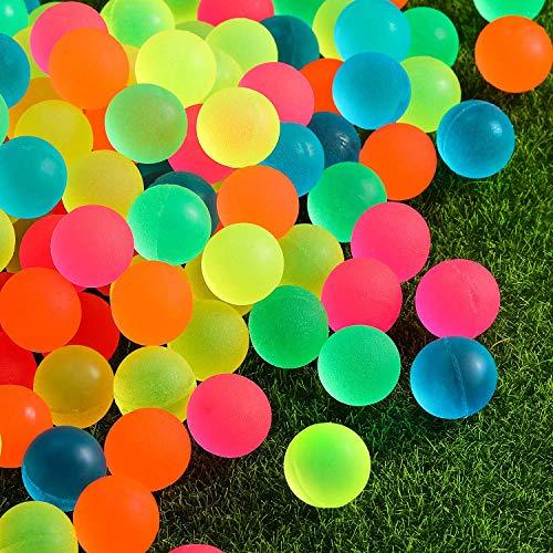 Pangda 120 Pieces Bouncy Balls - Colorful Bouncing Balls Bulk Party Bag Filler, 0.88 Inches in...