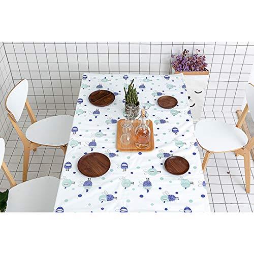yishu Bar Mantel Rectangular Efecto Lotus lavable resistente al agua lona Mantel antimanchas Cuidado f/ácil antimanchas Ropa de mesa 100x140cm amarillo