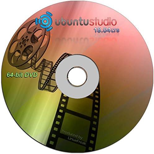Ubuntu Studio 18 04 Ubuntu for Musicians and Graphic Artists 64 bit DVD product image