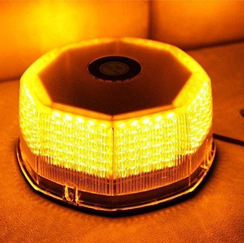 Anzene Lumière d'avertissement d'urgence clignotante 240 LED pour camion, voiture, toit de voiture (ambre)