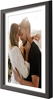 Art Street PMTPF1700010x12Bk Synthetic Wall Photo Frame (10 inches x 12 inches, Matted to 8 inches x 10 inches, Black)