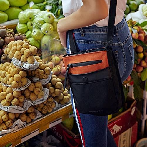 Sherpani Prima Anti Theft Crossbody & Shoulder Bag