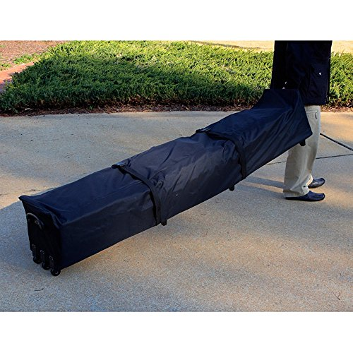 King Canopy CRB80 80-Inch Heavy Duty Roller Bag for 78-Inch Pipe and Canopy Top, Black