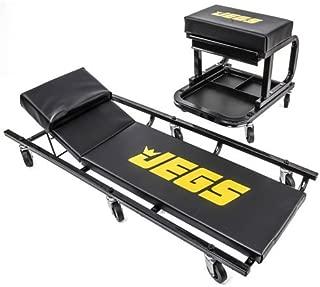JEGS 81150 Creeper & Mechanic Seat Set