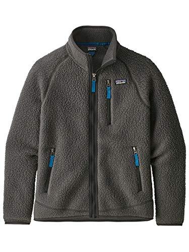 Patagonia Jungen Boys' Retro Pile JKT Weste, grau (Forge Grey), L
