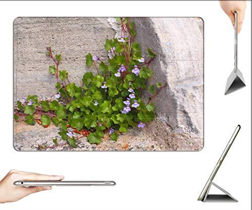 Case for iPad Mini 5 & Mini 4 - Dulcimer Herb Blossom Bloom Blue Violet Purple 2