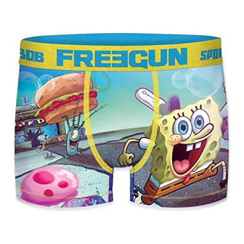 Freegun Herren Boxershorts Spongebob 2019 Gr. S, Burger 2 🍔