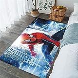 daerduotutu Alfombra de Spiderman Capitán América Vengadores...