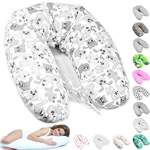 170cm XXL Stillkissen Schwangerschaftskissen Lagerungskissen Seitenschläferkissen 36 Farben Handmade 100% Zertifizierte Baumwolle Geräuschlos ekmTRADE (31)