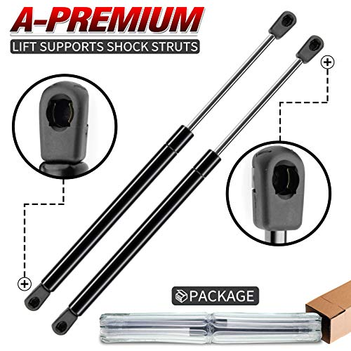 A-Premium Rear Window Lift Supports Shock Struts Replacement for Jeep Grand Cherokee WH 2005-2010 2-PC Set