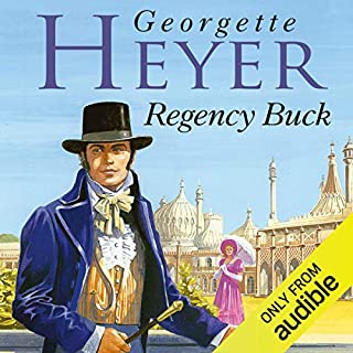 Regency Buck cover art