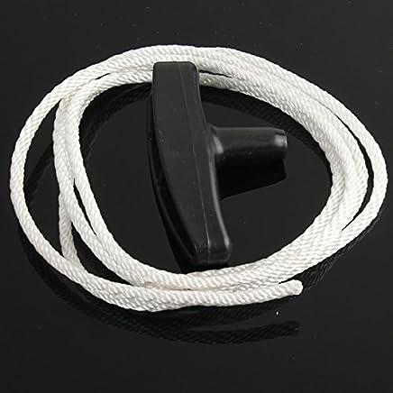 C-FUNN Cortadora De Césped Universal Tire Mango Plástico De Arranque con Cordón De Cuerda