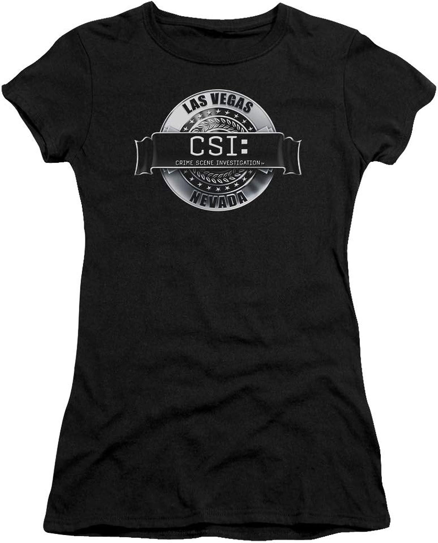 CSI  Juniors Rendered Logo Premium Bella TShirt
