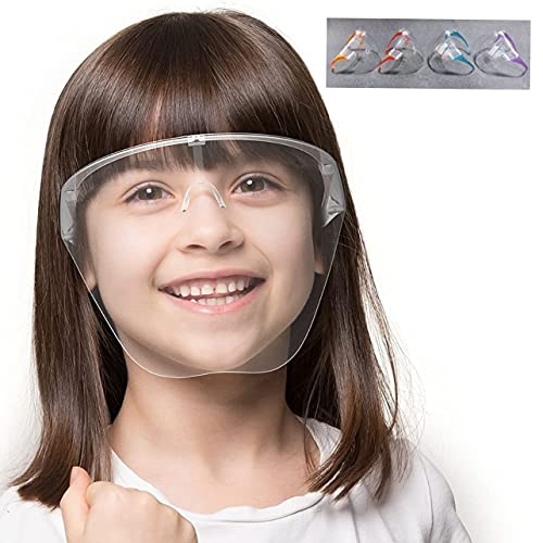REDSUN Full Face Shield For Kids (above 6 years) | Anti-fog, Washable, fits Perfectly with Removable Nose Rest (2)