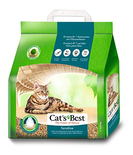 Cat\'s Best 29776, Lettiera per gatti Green Power, 2.9 kg