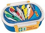 食洗機対応タイトランチボックス小判 プラレール 17