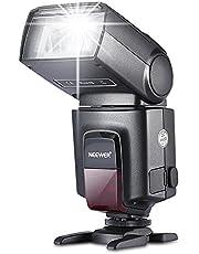 Neewer TT560 - Flash Speedlite para Canon, Nikon, Sony, Olympus, Panasonic, Pentax, Sigma, Minolta, Leica y Otros, Negro