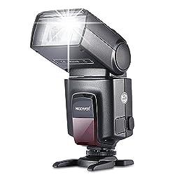 Neewer TT560 Blitzgerät für Canon 50D 40D 30D 20D 1100D 60D 600D, NIKON D3100 D7000 D5000 D TT520