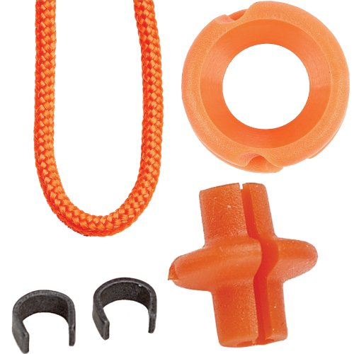 Pine Ridge Archery Hunter's Combo Pack, Orange, 1/4-Inch